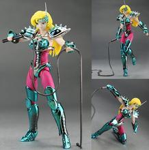 Saint seiya myth cloth King model Saint Seiya Chameleon June Jenny Bronze Myth Cloth marvel action figure toy metal armor&Whip