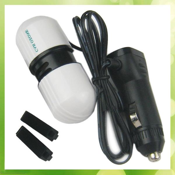 1PCS Portable Mini Vehicle Car Ozone Ionizer Generator Air Purifier Air Cleaner(China (Mainland))