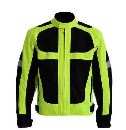 Hot Sale Breathable Men's Summer Motorcycle Jacket Best Quality Motorcycle Clothing Waterproof Racing Reflective Safety Coat(China (Mainland))