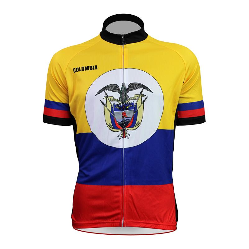 New Colombia Alien SportsWear Mens Cycling Jersey Cycling Clothing Bike Shirt Size 2XS TO 5XL(China (Mainland))