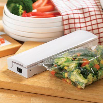 Food vacuum sealer Save Portable heat sealing machine Reseal Airtight handy Keep Food Fresh cooking tools AY184-SZ(China (Mainland))