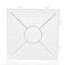 Square Puzzle Pegboards Patterns For 5 mm Hama Beads Perler Beads DIY Kids Craft Fuse Beads(China (Mainland))