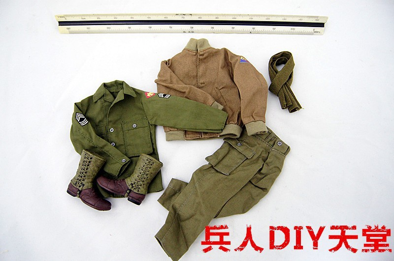 1/6 scale doll clothes set for 12 action figure doll Brad Pitt in Fury Clothing<br><br>Aliexpress