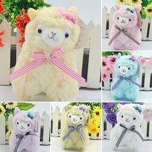 2015 New Alpacasso Alpaca Plush Toy Hat Adorable Doll Stuffed Arpakasso Alpacasso 15cm Gift(China (Mainland))