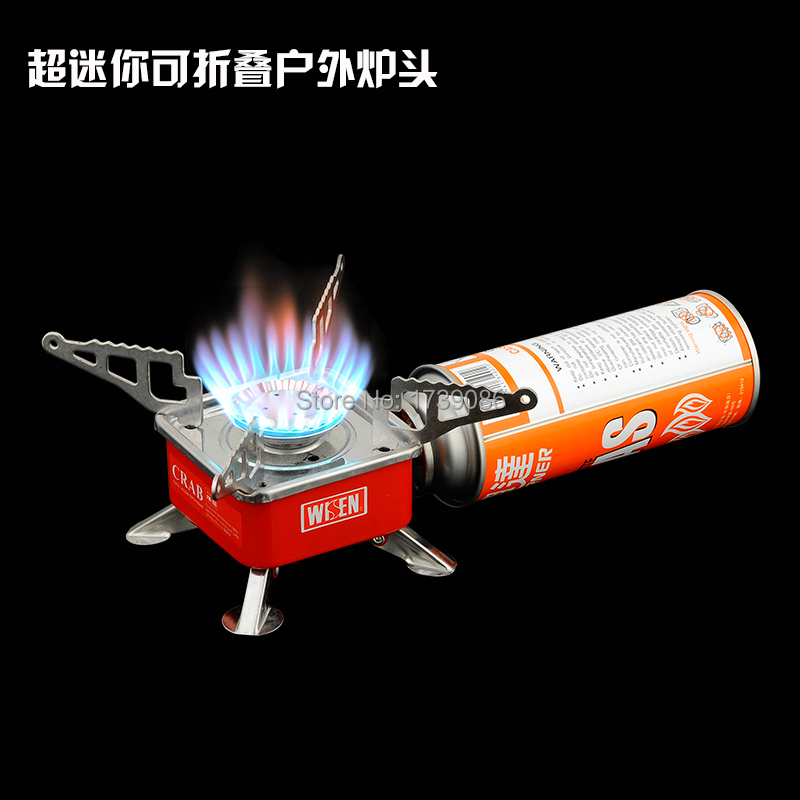 Hot Selling Integrated &camping stove Portable No fuel & Foldable camping equipment Gas stove Non-disposable Free shipping(China (Mainland))