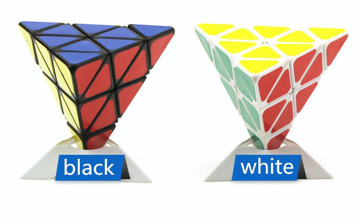 Kid Gifts IQ Toys Pyramid-shaped Magic Puzzle Cube,Educational Toy Puzzle Cube(China (Mainland))