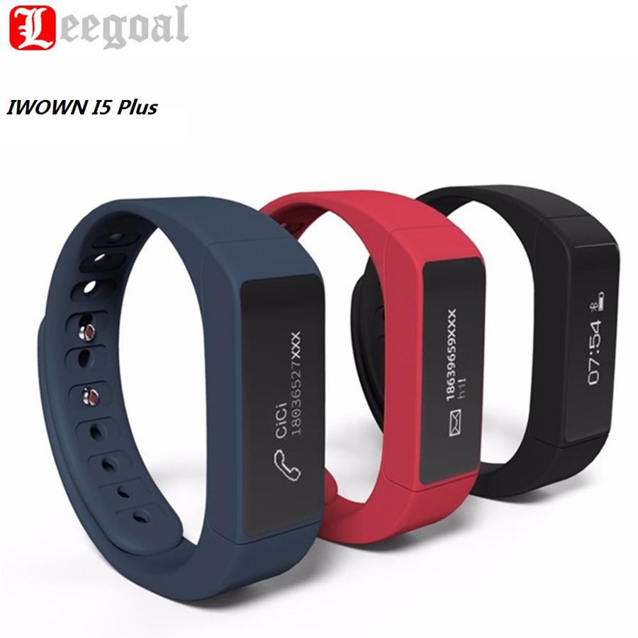 IWOWN I5 Plus Bluetooth Smart Bracelet Passometer Fitness Sleep Tracker Smartband Health Monitor Intelligent Wristband For Phone(China (Mainland))