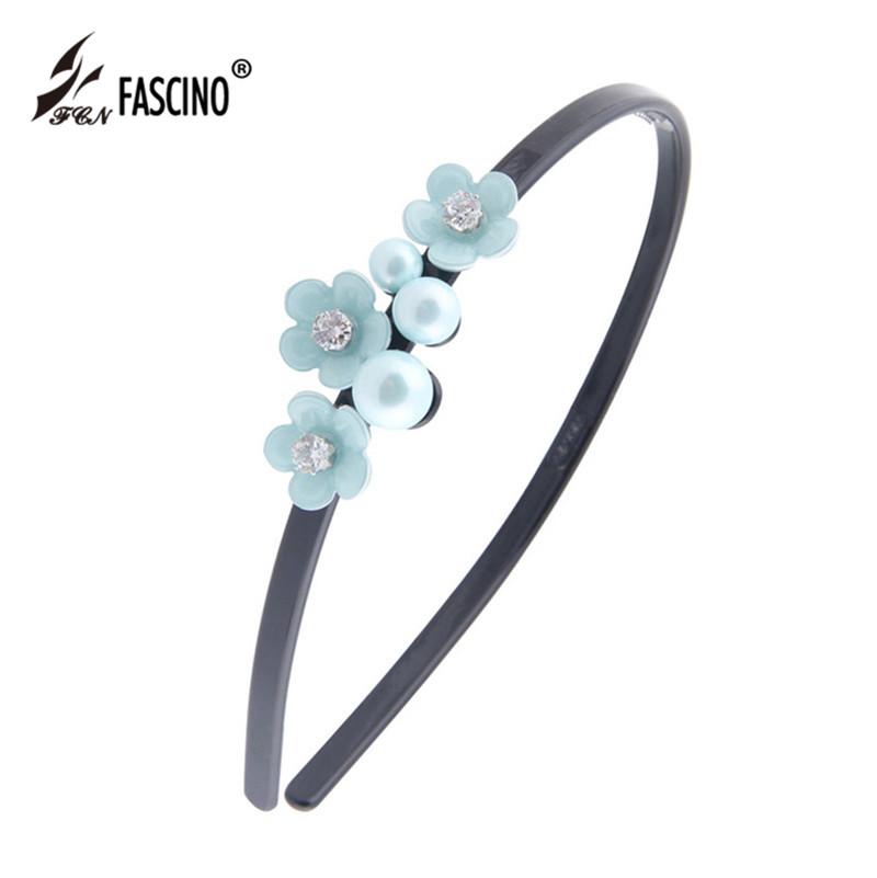 Korean Fashion Jewelry Crystal Flowers Headband Hairband Candy Color Hair Accessories For Women Girls Tiara (DG840152)(China (Mainland))