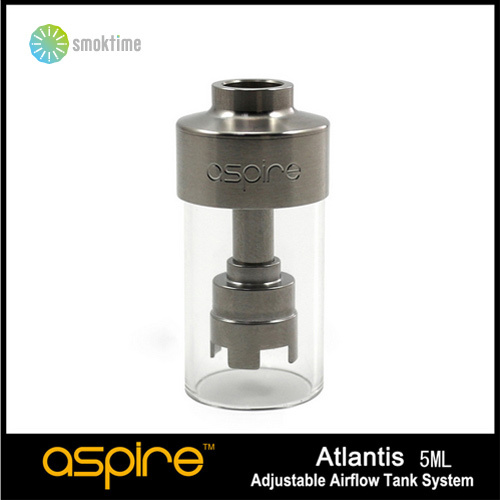 2015 newest product electronic cigarette original aspire atlantis Replacement Tank 5Ml Pyrex Tube 10PCS/LOT Free Shipping Stock(China (Mainland))