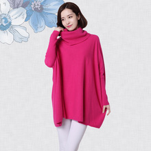 The Sleeping Beauty Divine Autumn Winter Ladies Knitted Cashmere Sweater Loose Poncho Sweater Girl 8092