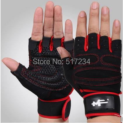 2015 Half Finger Bodybuilding Weightlifting Fitness Gloves Climbing Paintball Outdoor Sports - Howard Liu's store