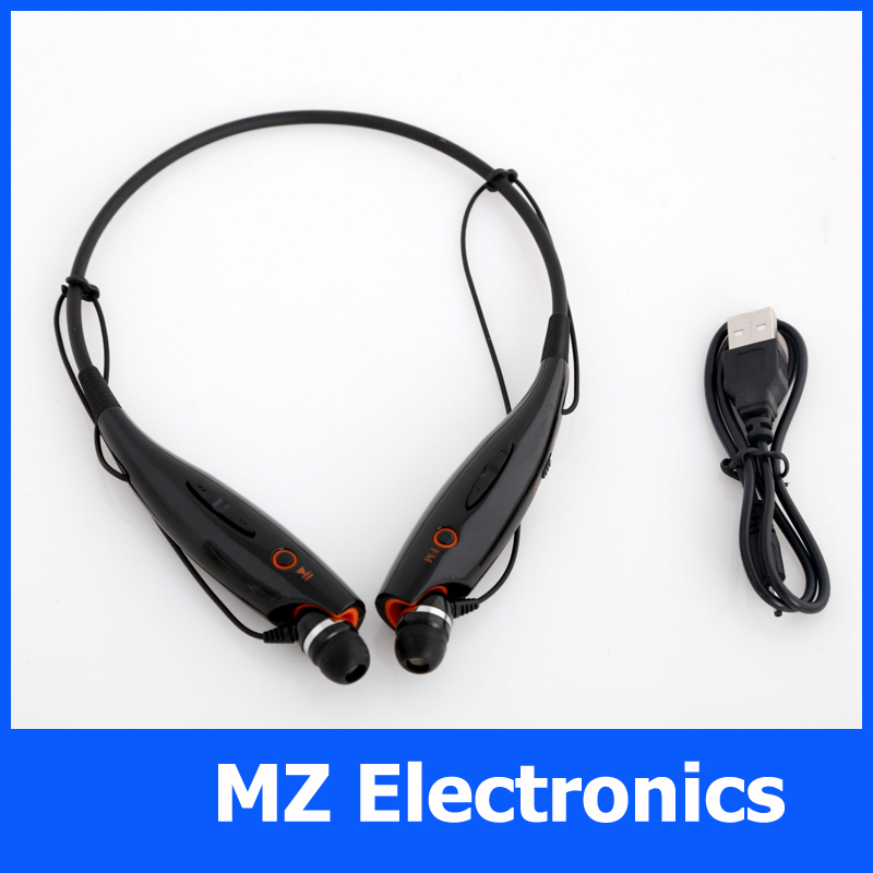 In ear sports mp3 headsets with fm radio neck hang Black white consumer electronics 2014 new