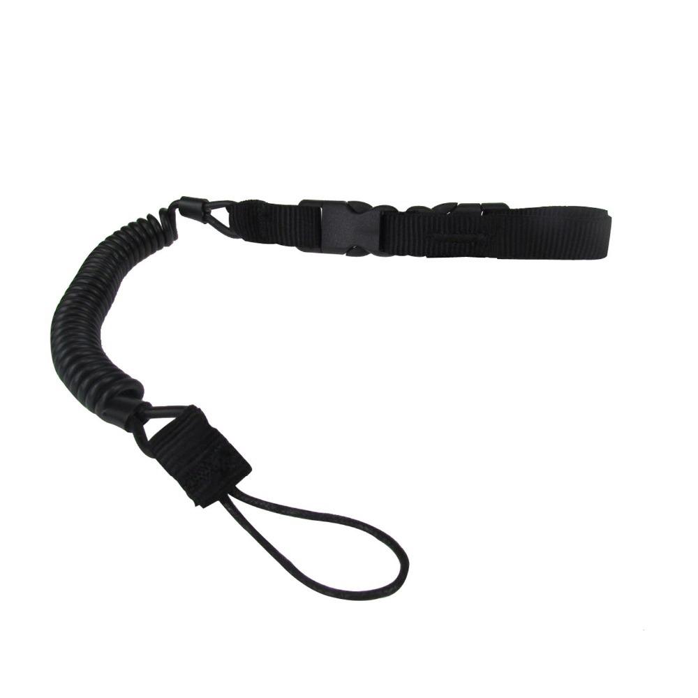 Tourbon Safari Store Multi-purpose Rope  High Tensile Outdoor Elastic Rope TPU Material Black Rope For Hiking  Climbing Travel