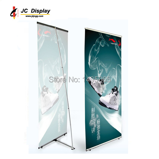 Aluminum L banner stand in size 80X200cm(China (Mainland))
