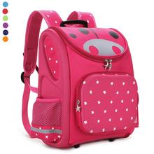 TOP Quality Children School Bag Orthopedic Backpack for Boys Girls Stars Kids Cartoon Mochila Infantil Kindergarten Primary 1-3(China (Mainland))