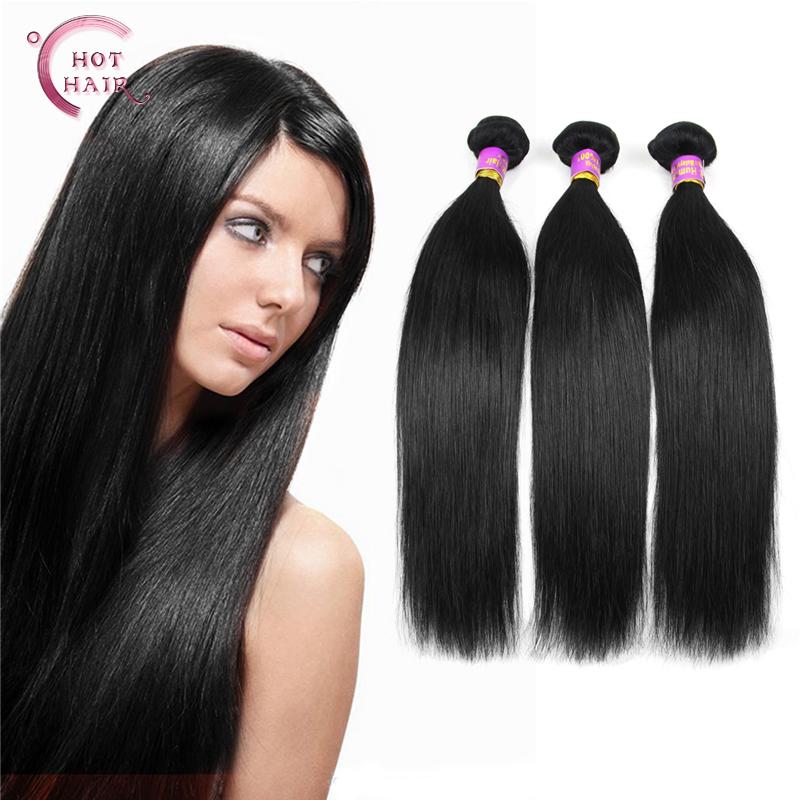 Malaysian Virgin Hair Straight 3 Bundles Human Hair Weave Malaysian Straight Hair Wholesale(China (Mainland))