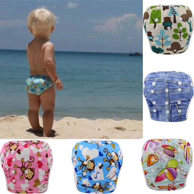 Ребенка плавать пеленки брюки стирать многоразовые один размер дышащий обложка многоразовые ...