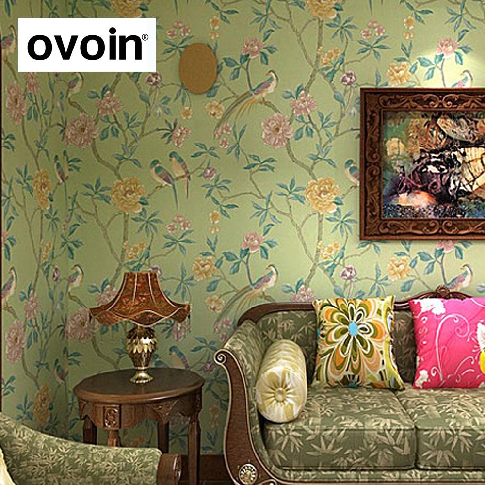 fleuri papier peint achetez des lots petit prix fleuri. Black Bedroom Furniture Sets. Home Design Ideas