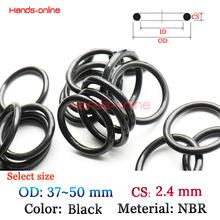 1 SEAL OD 37 38 40 41 42 44 45 46 47 48 50 mm x CS 2.4mm NBR Oring WIPER Hydraulic Seal - hands-Online Technology store