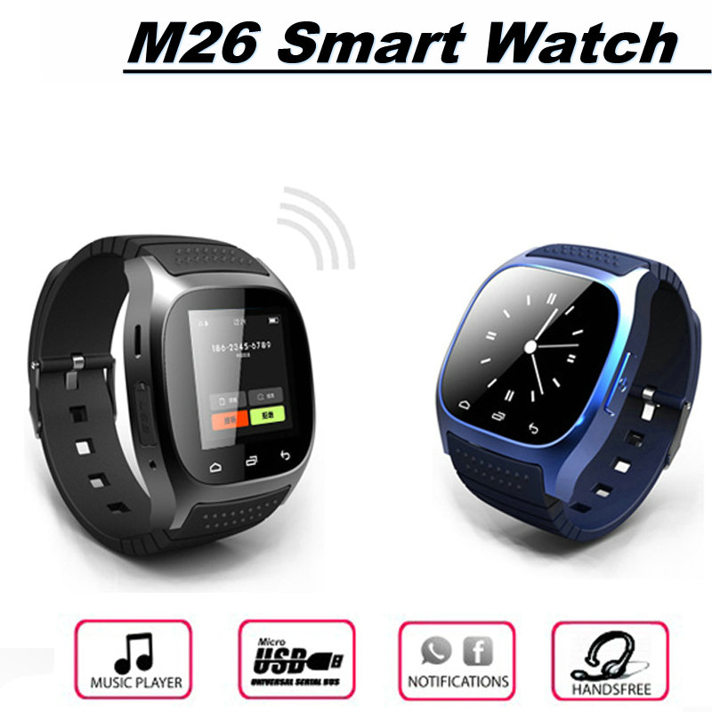 NEW M26 Bluetooth Smart Watch luxury smartwatch with Dial ...