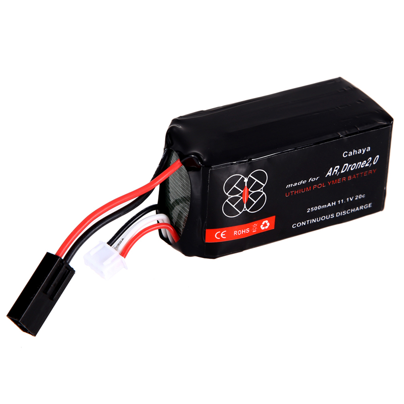 Free Shipping 2500mAh 11.1V Battery for Parrot AR.Drone 2.0 Power Edition Quadricopter OD#S<br><br>Aliexpress