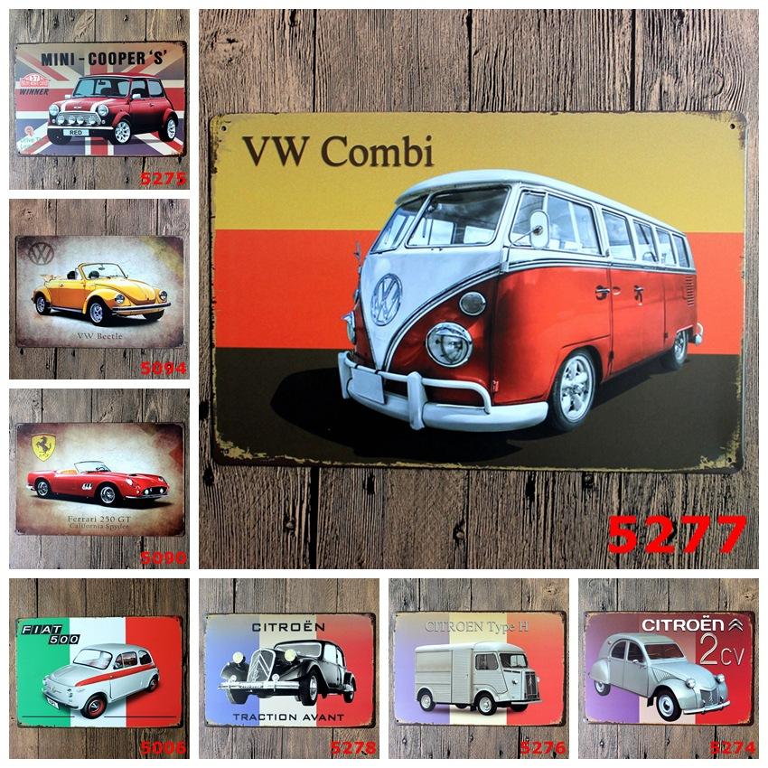 Vw signe promotion achetez des vw signe promotionnels sur al - Affiche combi volkswagen ...