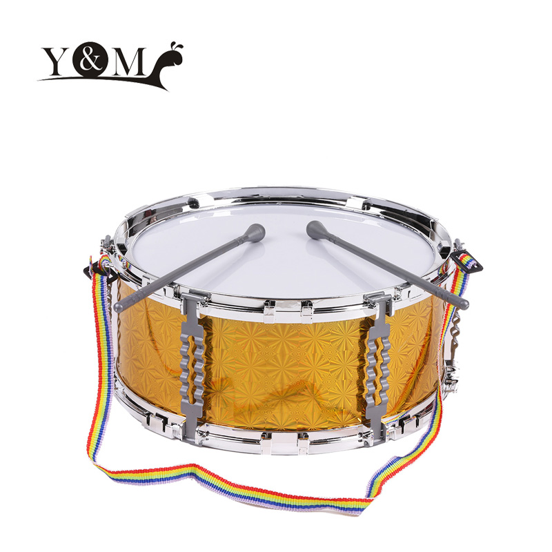 3 Color Jazz Snare Drum Toys for Children Percussion Toy Musical Instrument with Drum Sticks Strap Educational Kids Toys(China (Mainland))