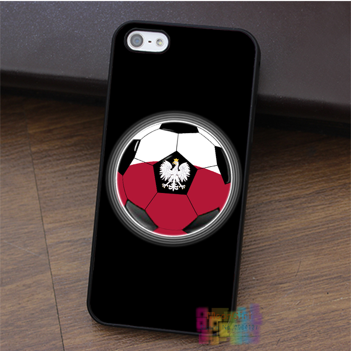 World Cup - Poland - Polish Flag - Football or Soccer fashion case for iphone 4 4s 5 5s 5c SE 6 6s & 6 plus & 6s plus #LI3442(China (Mainland))