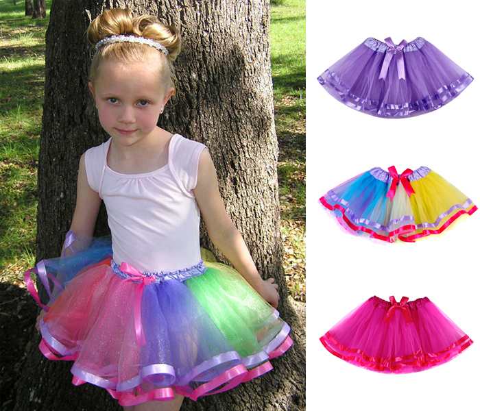 Ribbon Bow Girls Tutu Skirt Fashion Tutu Skirts Girls Short Baby Tutus Skirt For Girls Pettiskirts Baby Tutu 2t-8t 13 Colors(China (Mainland))
