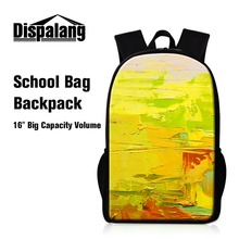 Buy Personalized School Backpacks Children Girls Schoolbag Bagpack Art Lightweight Back Pack Cute Day Pack Teenager Students for $19.97 in AliExpress store