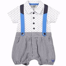 Newborn Rompers 2016 Cute Toddler Baby Girl Boy  Jumpers Rompers Outfits Clothes 0-18M Baby clothing brand(China (Mainland))