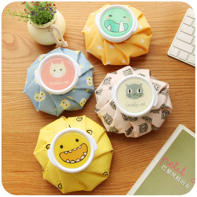 Cute cartoon ice cold summer children's fever medical cooling speed cold ice bag used repeatedly(China (Mainland))