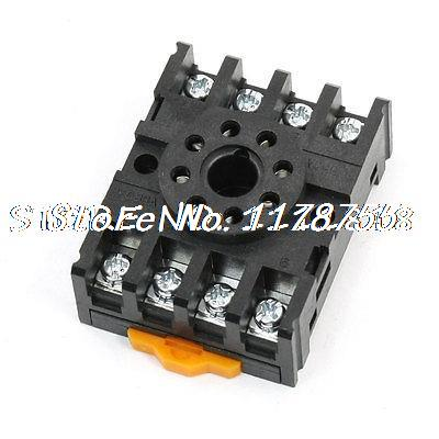 PF083A Time Relay Base Socket Holder 8 Terminals for JTX-2C DH48S MK2P<br><br>Aliexpress