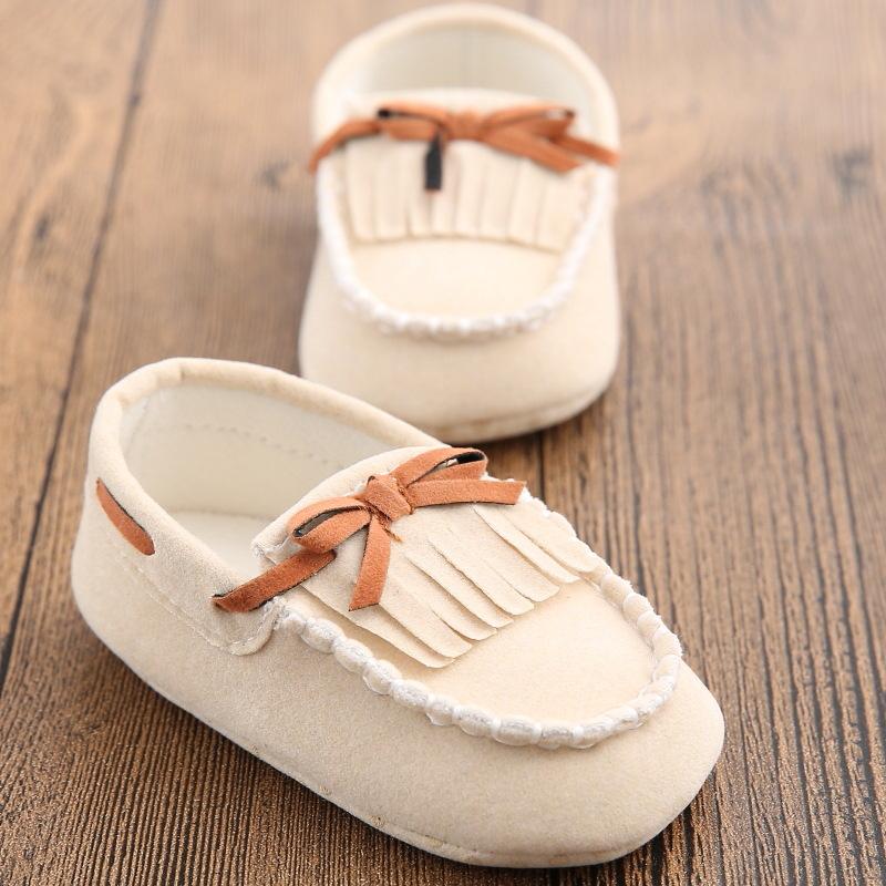 Fashion Branded Newborn Baby shoes Kids Boys Prewalker font b Plaid b font Casual Leather Boy
