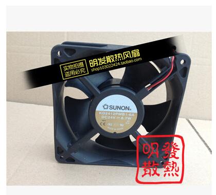 The original Taiwan SUNON KD2412PMB1-6A 120*120*38MM 24V 6.7W server fan<br><br>Aliexpress