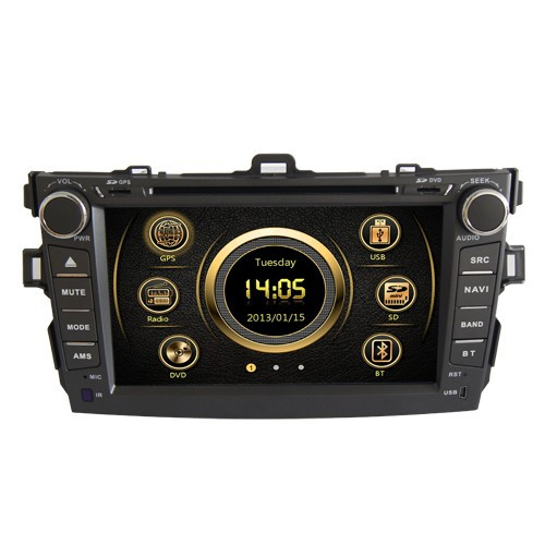 LSQ Star Special Car audio dvd with gps for Toyota Corolla 2007-2011with dual zone/PIP/GPS/BT/Radio/IPOD/3G/SWC/free MAP ST-8003(China (Mainland))