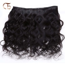 Sky human hair products unprocessed Indian virgin hair body wave 3 bundles cheap weave online natural black color fast shipping(China (Mainland))