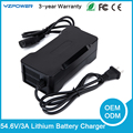 Built in Fan 54 6V 2A 3A Intelligent Lithium Battery Charger Universal for 13 cell Power