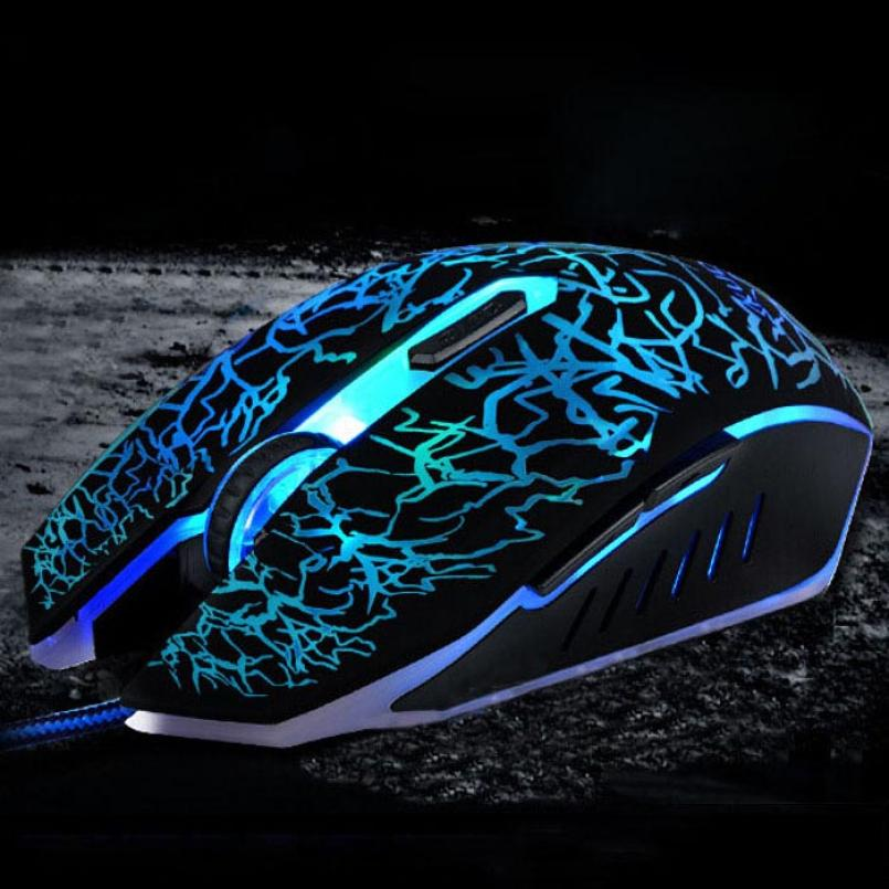 DCL 2015  High Quality  Professional Colorful Breathing Backlight 4000DPI Optical Wired Gaming Mouse Mice NOV25<br><br>Aliexpress