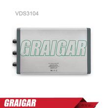 Owon VDS3104 osciloscopio para pc, 4 1 ( multi ) el canal y Multi-trigger opción 100 MHz de ancho de banda 1GS / s frecuencia de muestreo de 5 M longitud de registro
