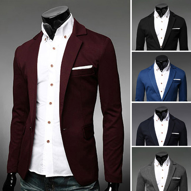 Popular Blazer Men Navy Blue-Buy Cheap Blazer Men Navy Blue lots ...