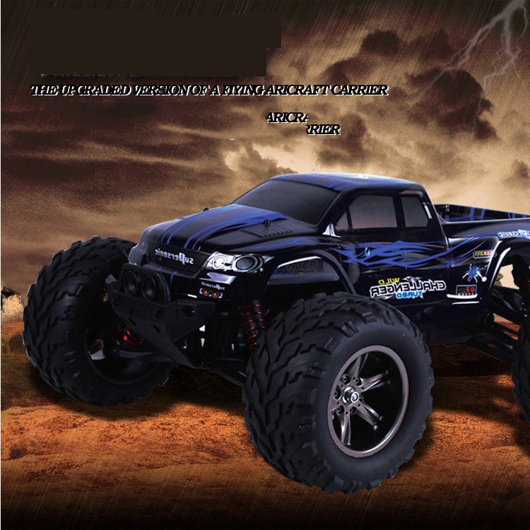 40kmh+ 1/12 scale Electric RC Monster Truck Off Road 2.4Ghz 2WD High Speed Remote Controlled Car All included RTR(China (Mainland))