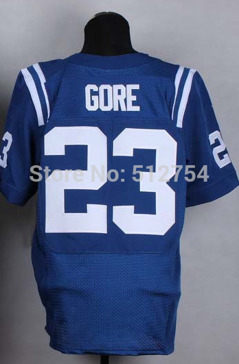#23 Frank Gore Jersey,Elite Football Jersey,Best quality,Authentic Jersey,Embroidery Logo,Size M--3XL,Can Mix Order(China (Mainland))