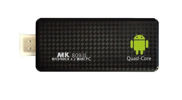 TV BOX MK809 III Cortex A9 MK809III MINI Androind 4.2 1.8GHz Free shipping Rockchip RK3188 Quad Core