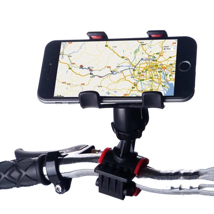 New Smart Universal Bicycle Mount For iPhone Bike Bicycle Handle Phone Mount Cradle Holder Cell Phone Support Case(China (Mainland))