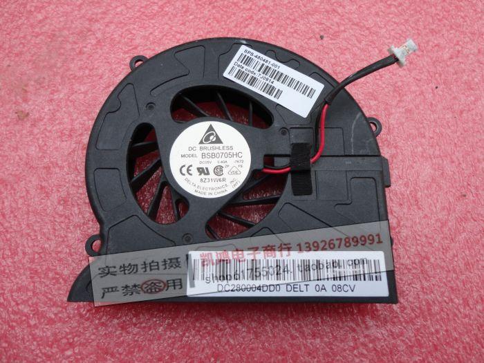 DFS531205M30T F7F8 LAPTOP CPU FAN FOR HP DV7 CPU COOLING FAN DV7T-1000 DV7T-1100 DV7T-1200 480481-001(China (Mainland))