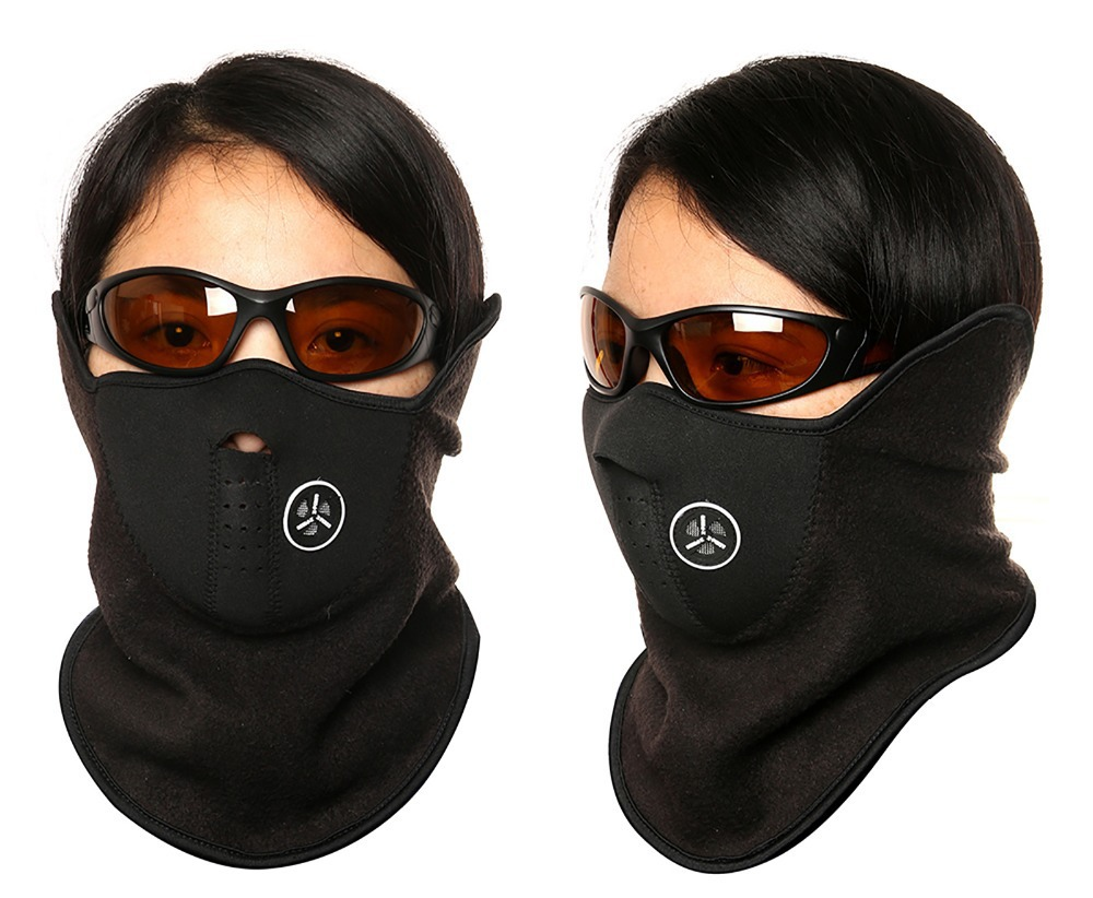 FREE SHIPPING Ski Snowboard Motorcycle Bicycle Neck Warmer Fishing Warm Winter Face Mask Fishing Mask(China (Mainland))