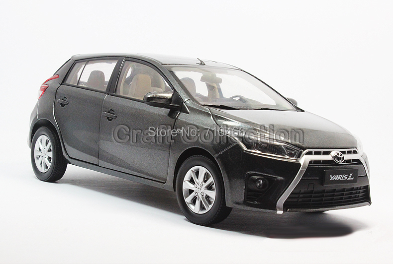 Gray Scale 1 :18 New Toyota YARIS L Hatchback 2013 Diecast Model Car 7 Colors Available<br><br>Aliexpress
