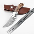 New Browning hunting knife 440c blade wood handle camping survival tactical fixed knife north american hunting