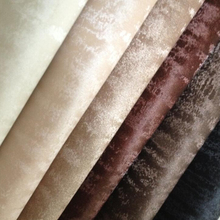 91x134cm Synthetic Leather Faux Leather Fabric Printed Tiger Grain Leather Fabric Color Glitter For Sewing DIY P26(China (Mainland))
